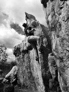 Rock Climbing Photo: B&W Arete!!