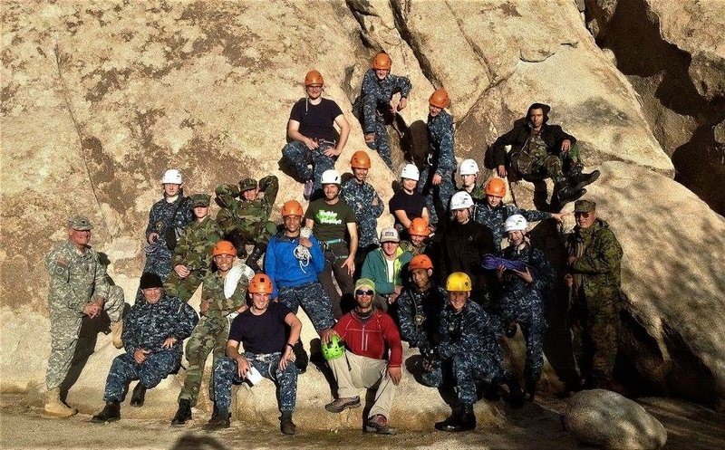 Rock Climbing Photo: Another amazing group in Joshua Tree!