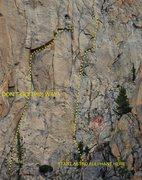 Rock Climbing Photo: Ways to start (or not start) Astro Elephant