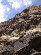 Rock Climbing Photo:   Roth at work.