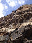 Rock Climbing Photo: Roth again.