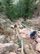 Rock Climbing Photo: Shirt Tail Trail