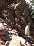 Rock Climbing Photo: More Work.