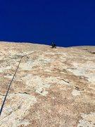 Rock Climbing Photo: Shinning path P2