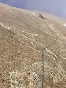 Rock Climbing Photo: Wandering Taoist Richard Shore navigating the wand...