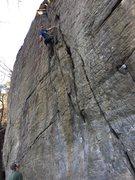 Rock Climbing Photo: No name crack