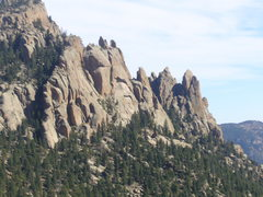 Rock Climbing Photo: Great view of some of the spires.