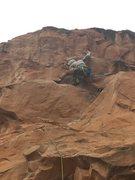 Rock Climbing Photo: Fun crux