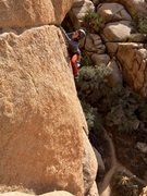 "Rock Climbing Photo: Variation: ""Careless Caretaker"" (see com..."