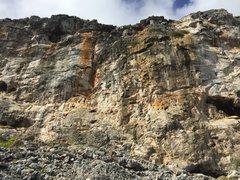 Rock Climbing Photo: The Orange Streak Sector