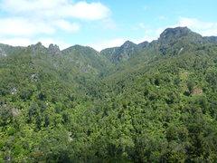 Rock Climbing Photo: Great views