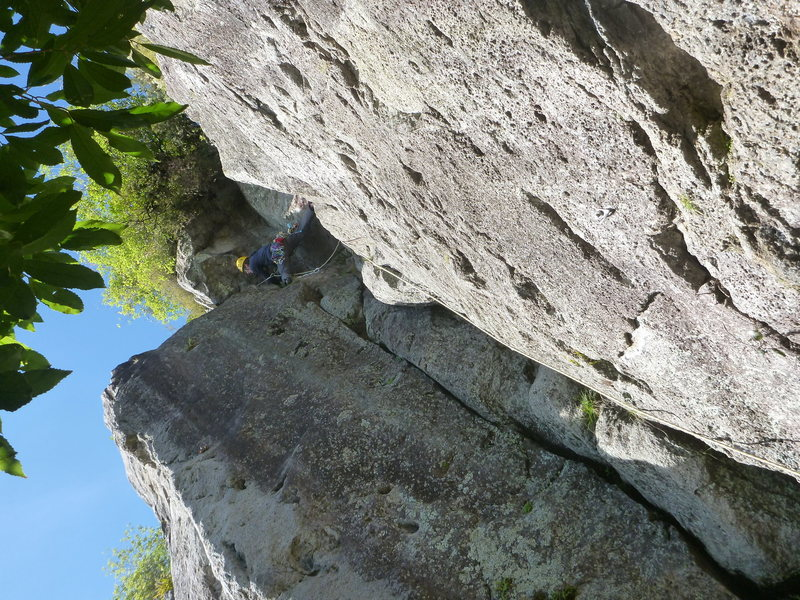 Rock Climbing Photo: Climbing at K1 crag
