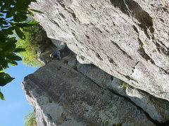 Rock Climbing Photo: Climbing at K1 crag