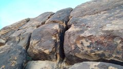 Rock Climbing Photo: Anyone recognize this route?  There are several ro...