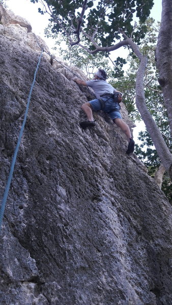 Rock Climbing Photo: The corner of Stamina...