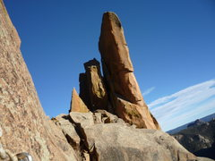 Rock Climbing Photo: Another shot of Turkey Foot Tower.