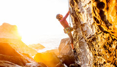 Rock Climbing Photo: Michelle cruising Grog Supply. South Face of the N...