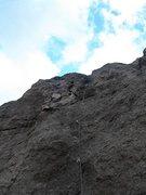 Rock Climbing Photo: Miner Slab