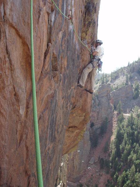 On the traverse, Jay Eggleston.