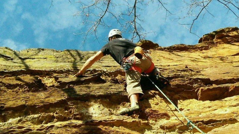 Rock Climbing Photo: T-shirt climbing third week of December 2016...