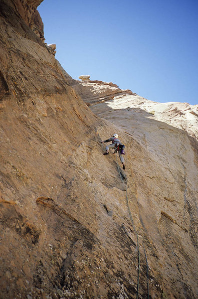 Rock Climbing Photo: Bruce Normand, 2005.