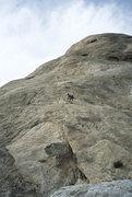 Rock Climbing Photo: Ralph Burns, pitch 3