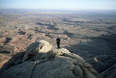 Rock Climbing Photo: Fran Bagenal, Mellow Yellow, 2003
