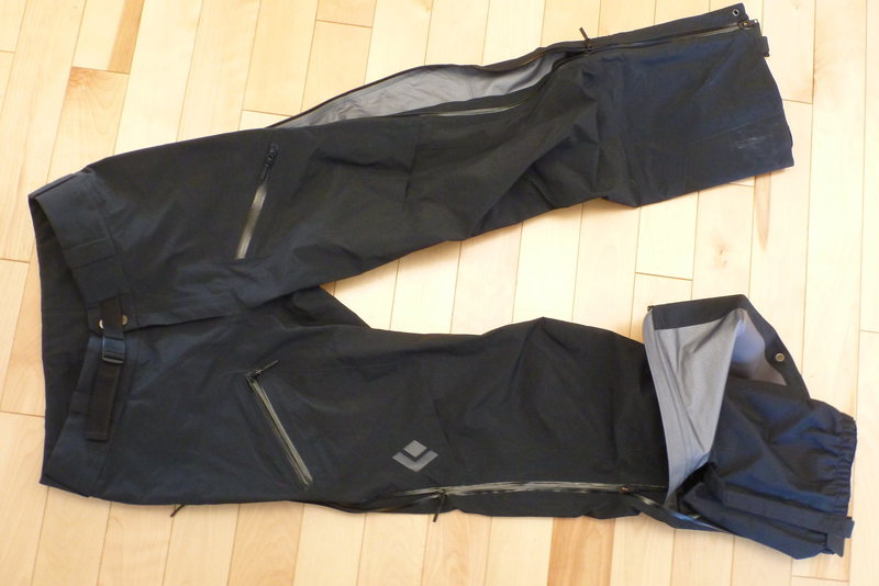 Black Diamond Sharp End Pants, Medium