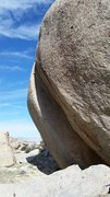 Rock Climbing Photo: What is that, 60-70 degrees of hang?