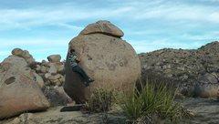 Rock Climbing Photo: Slopy arete.
