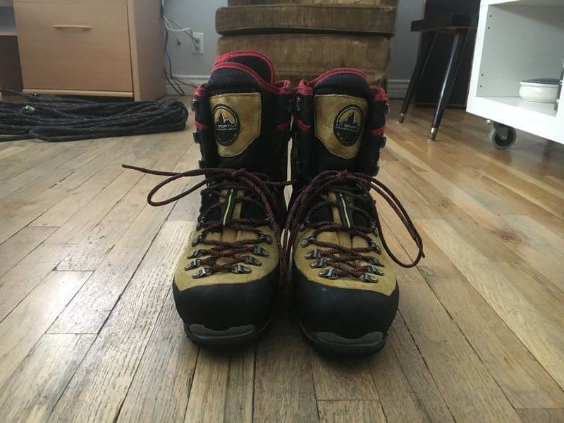 Rock Climbing Photo: size 41, good sole rubber