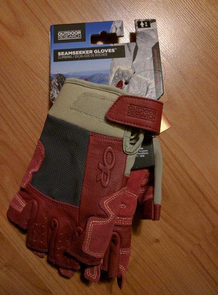 Rock Climbing Photo: seamseeker gloves men's medium