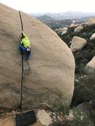 Rock Climbing Photo: Hope Chipman take a lap on Robbins.