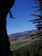 Rock Climbing Photo: Bouncin' gets pretty steep!