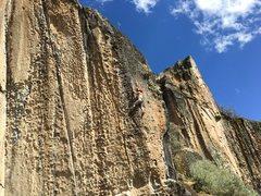 Rock Climbing Photo: On the Drunk Magic Woman