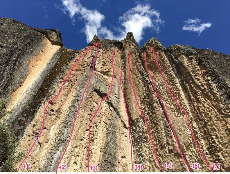 Los Españoles Wall<br> (1)Pobre Coco<br> (2)Hot Rock<br> (3)Te chos<br> (4)El Diedro<br> (5)Fideo<br> (6)Asi quedo<br> (7)Samba Pa