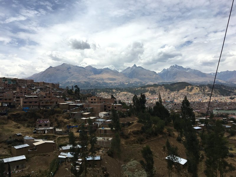 View of Hauraz from Los Olivos