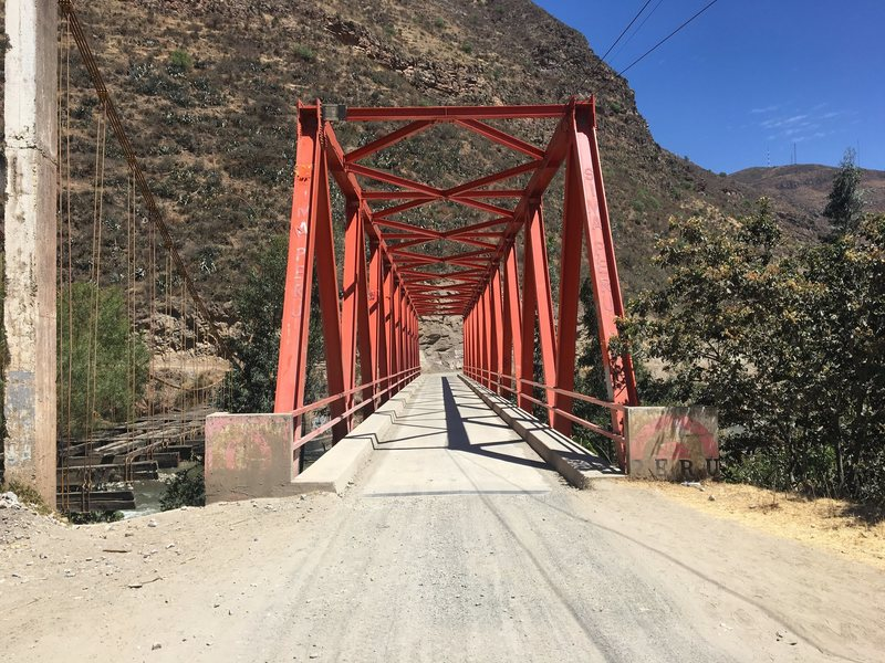 Rock Climbing Photo: Bridge you cross before heading up a dirt road and...