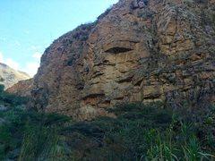 Rock Climbing Photo: The first Zone 1 of Shupluy