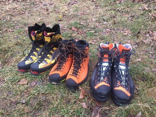 zodiac tech gtx (orange boot, center)