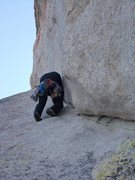 Rock Climbing Photo: Just after the Crux..