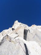 Rock Climbing Photo: Having fun on the Third Pillar, Regular Route