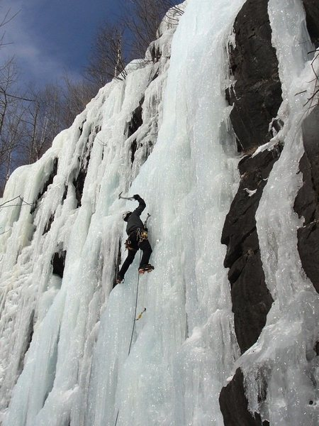 Rock Climbing Photo: Having fun on Pitchoff Quarry