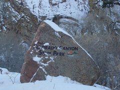 Rock Climbing Photo: Classic Eldorado rock.