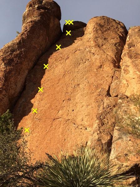 Rock Climbing Photo: Loctite Top