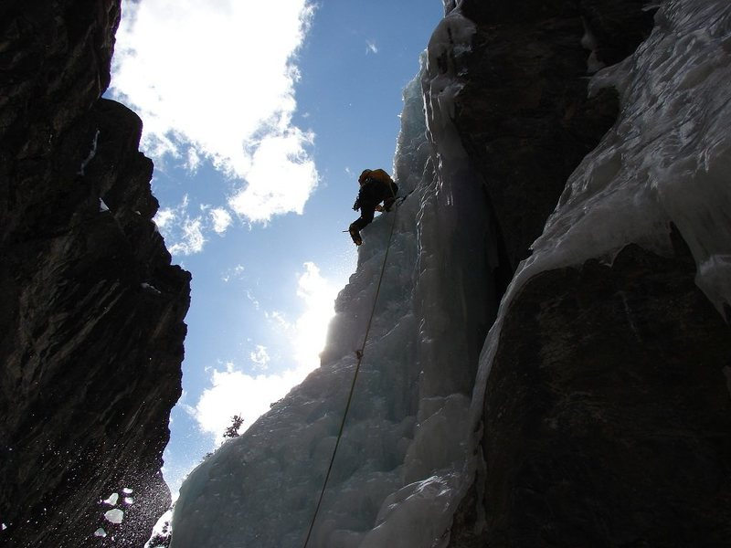 Rock Climbing Photo: Having fun in Ouray.