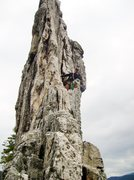 Rock Climbing Photo: Having fun on Gunsight to South Peak