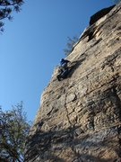 Rock Climbing Photo: Having fun on Strike a Scowl