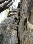 Rock Climbing Photo: Having fun on The Hopfenperle Special