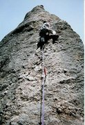 Rock Climbing Photo: Having fun on Cerberus